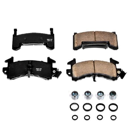 OE Replacement for 1978-1987 Buick Regal Front Disc Brake Pad and Hardware Kit (Base / Estate Wagon / GNX / Grand National / Limited / Limited Turbo / Sport / (Buick Grand National Vacuum Brake Conversion Kit)