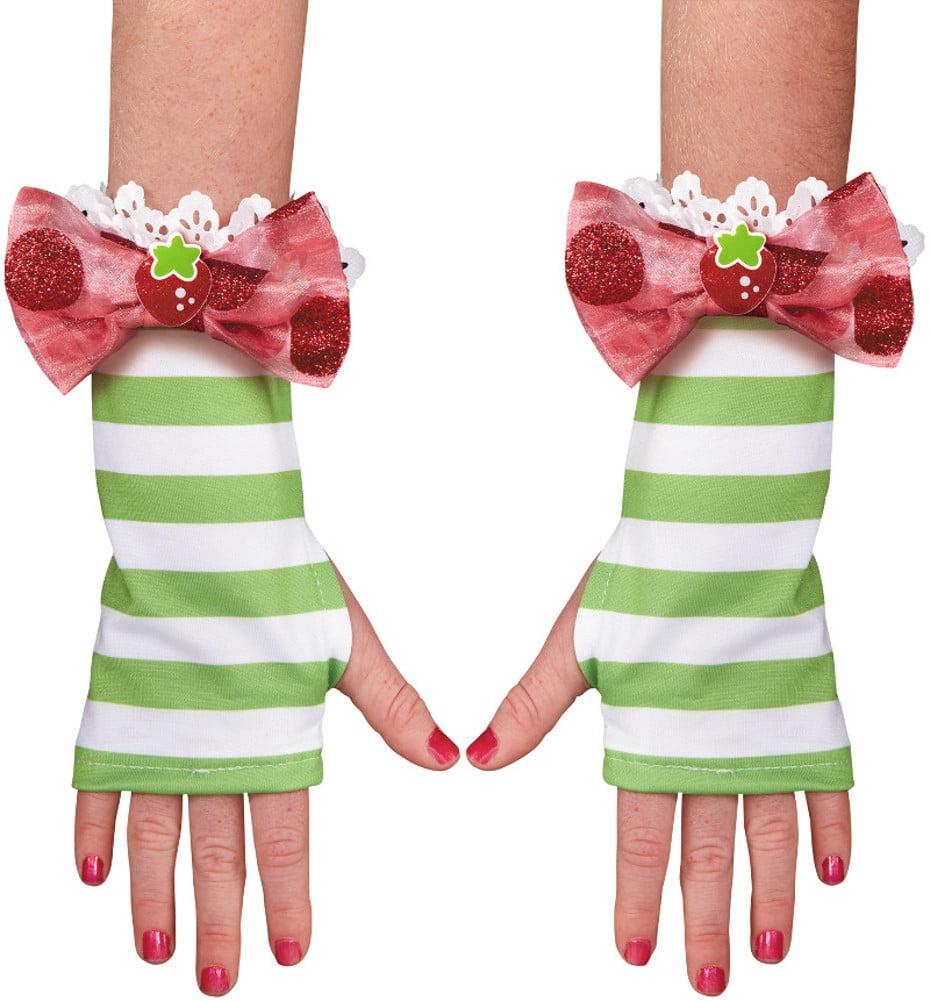 Girls Strawberry Shortcake Child Glovettes Gloves Costume Accessory