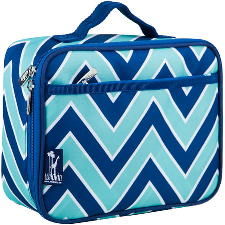 Wildkin Zigzag Lucite Lunch Box - White Lunch Bags