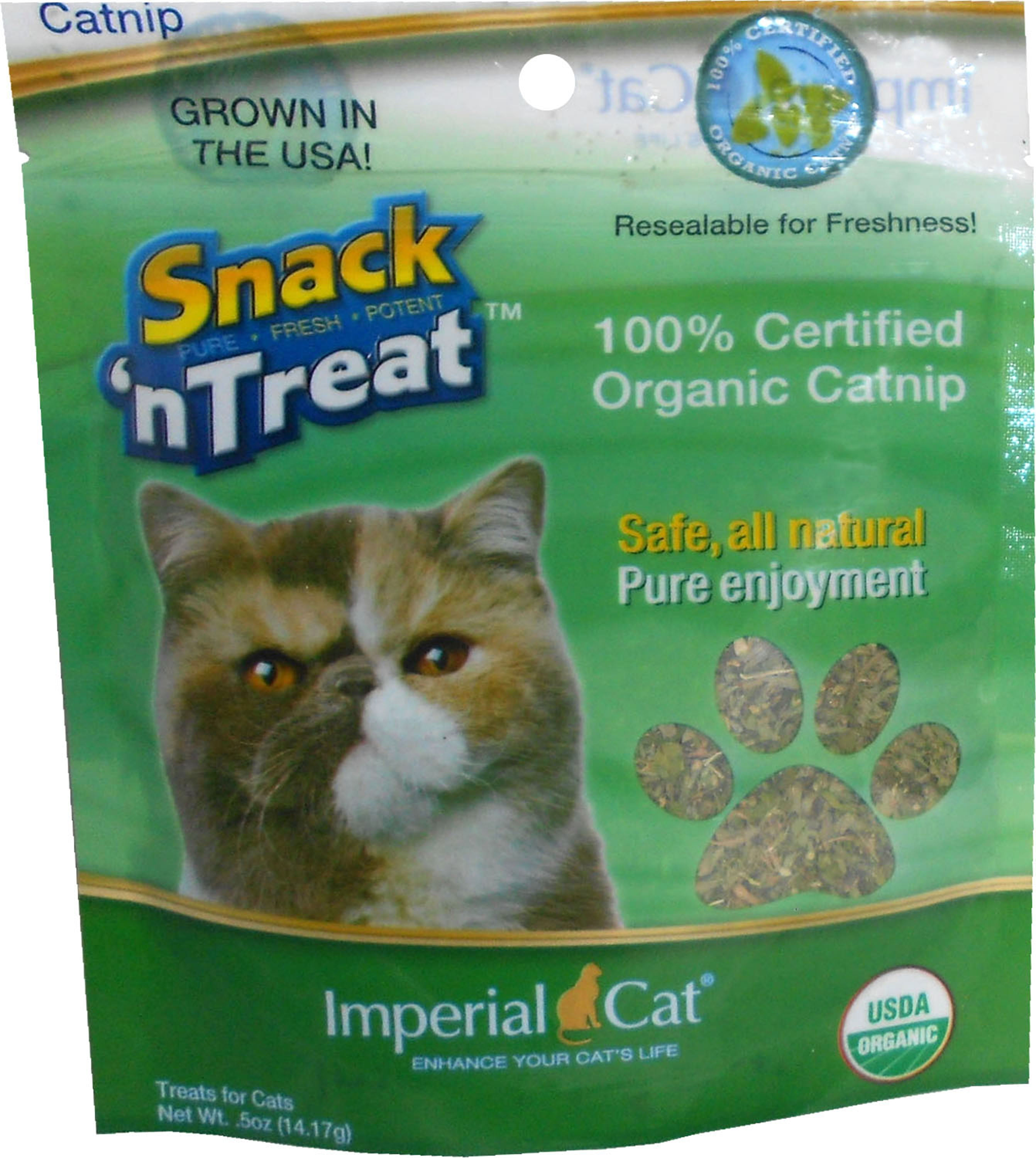 Imperial Cat 1 2 oz. Certified Organic Catnip by Cat Claws Inc.