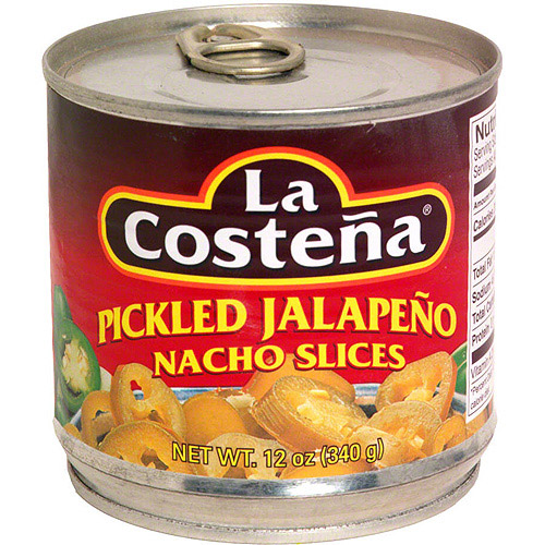 La Costena Pickled Jalapeno Nacho Slices, 12 oz (Pack of 12)