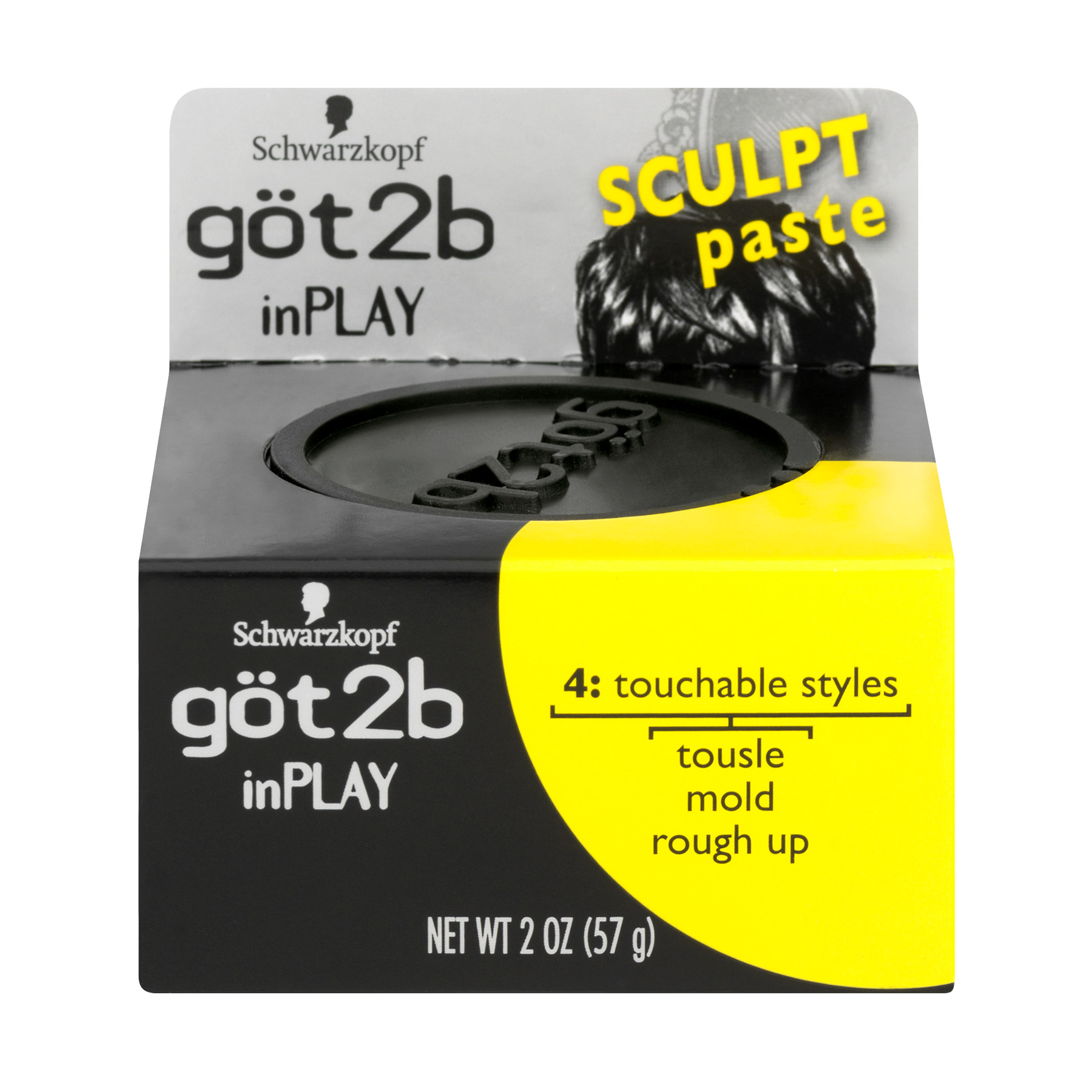 Got2b inPlay Sculpt Paste 2 oz. Jar