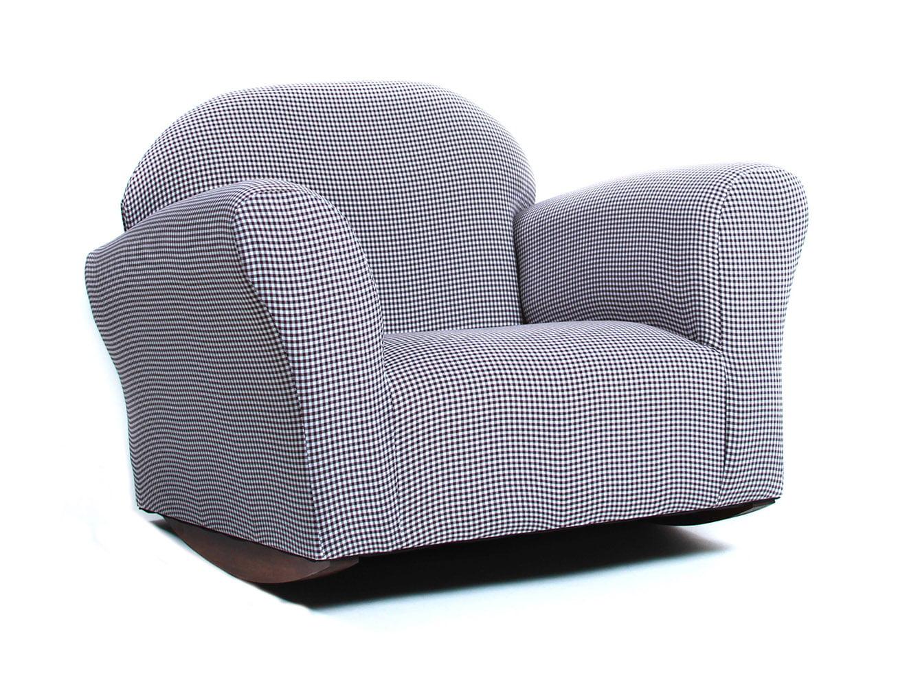 Keet Roundy Children S Gingham Rocking Chair Multiple