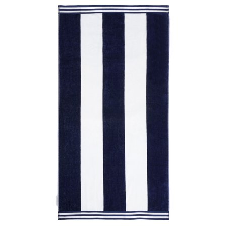 Niantic 100% Cotton Oversize Cabana Terry Beach Towel by Impressions