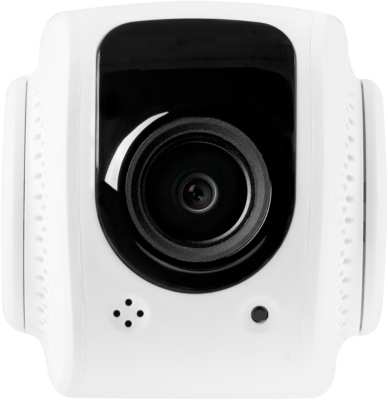 Tend Secure Lynx Indoor HD Wi-Fi Video Monitoring Security Camera with Facial Recognition (White)
