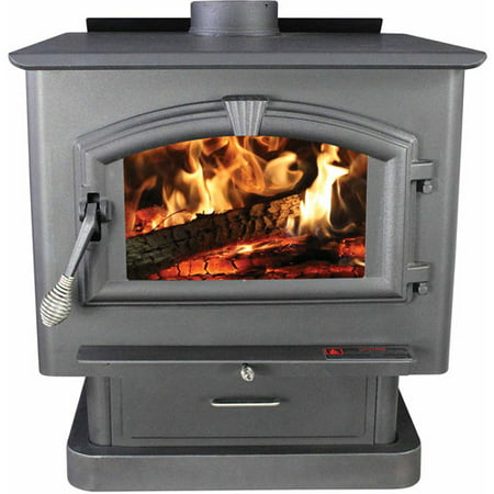 US Stove Extra Large EPA-Certified Wood Stove - US Stove Extra Large EPA-Certified Wood Stove - Walmart.com