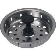 Peerless Sink Strainer With Retractable Stopper