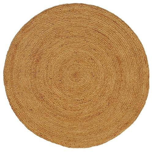 test handwoven braided natural jute rug ' round  walmart, 6' round jute rug, pottery barn 6' round jute rug