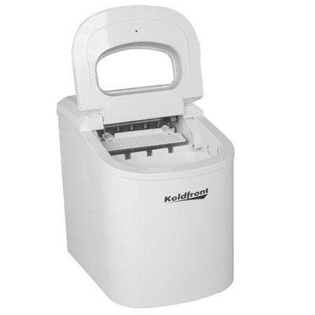 Koldfront Portable Countertop Ice Maker : Koldfront Ultra Compact Portable Ice Maker - White
