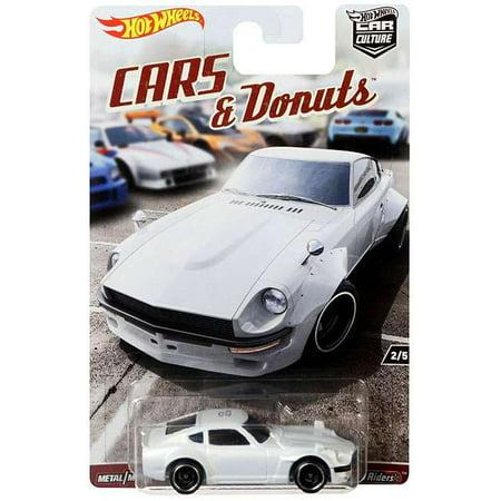 Hot Wheels Cars & Donuts Custom Datsun 240Z Diecast Car](Custom Hot Wheels)