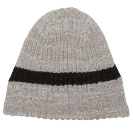 - Minus33 Merino Wool Clothing  Unisex 'Timber' Tan Stripe Merino Wool Lightweight Beanie Hat