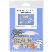 Paper Wizard Die-Cut-Beach Mini's*