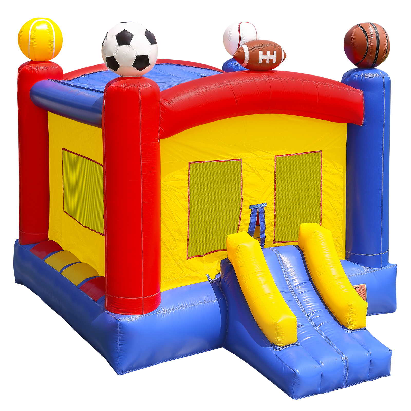 Inflatable HQ Commercial Grade Sports Bounce House 100% PVC with Blower