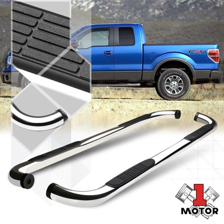 Ford Running Boards >> Chrome 3 Side Step Nerf Bar Running Board For 09 14 Ford F150 Extended Supercab 10 11 12 13