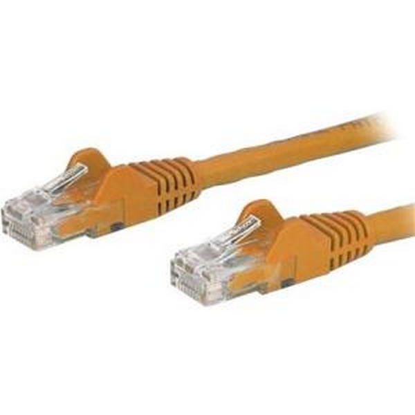 STARTECH.COM N6PATCH1OR 1FT ORANGE CAT6 CABLE SNAGLESS ETHERNET CABLE UTP
