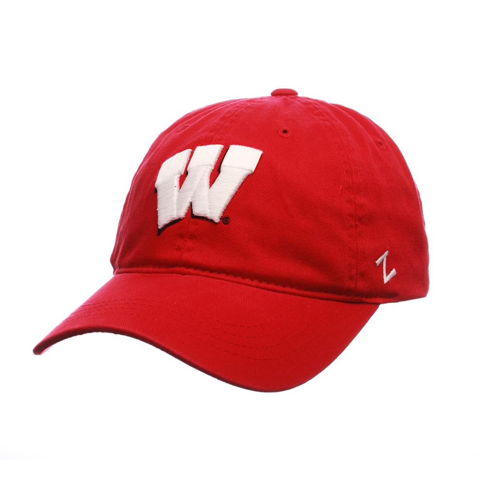 University of Wisconsin Badgers Zephyr Scholarship Adjustable Hat