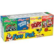 Kellogg's Fun Pak Breakfast Cereal, Variety Pack, 8.56 Oz, 8 Ct