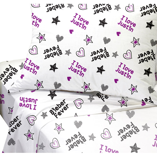 Justin Bieber Concert Bedding Sheet Set