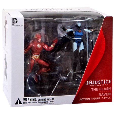 DC Injustice: Gods Among Us The Flash & Raven Action Figure 2-Pack - Raven Bar Dc