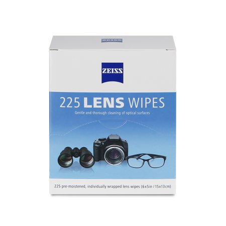 ZEISS 225ct Lens Wipes (Carl Zeiss Sonnenbrille)