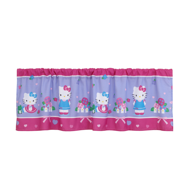 Hello Kitty Springtime Friends Window Valance, Pink
