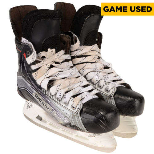 Jake Muzzin Los Angeles Kings Game-Used Black and Gray Bauer Skates from the 2016-17 NHL Season No Size by Fanatics Authentic