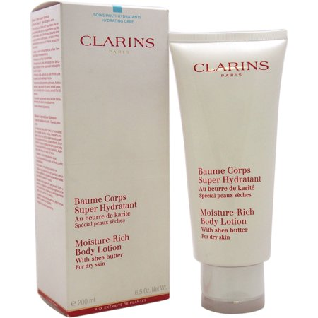clarins moisture rich body lotion with shea butter for dry skin 6 5 oz. Black Bedroom Furniture Sets. Home Design Ideas