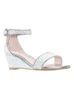Girls' Nina Kristina Ankle Strap Wedge Sandal