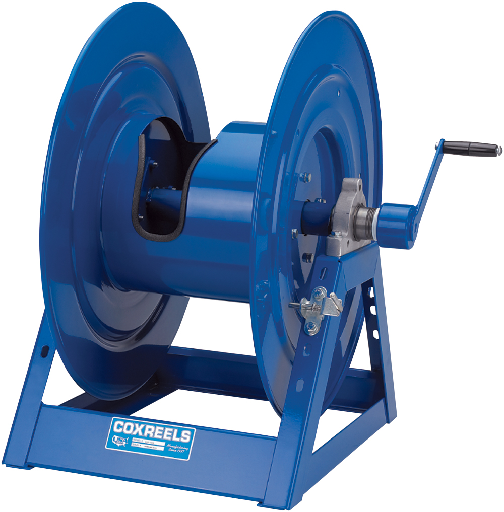 COXREELS 1125-4-325-BYXX Hand Crank Storage Hose Reel by Coxreels