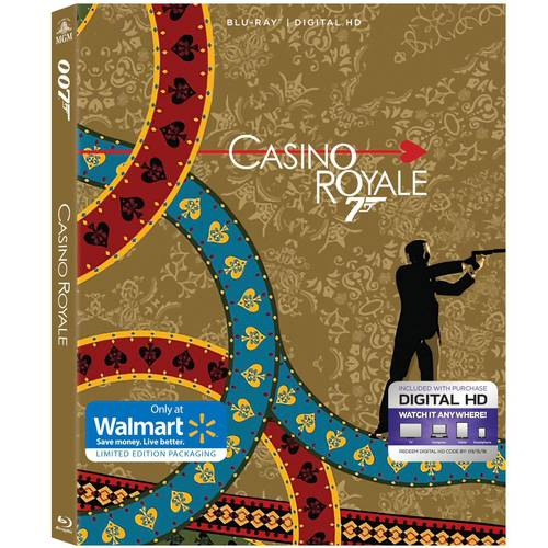 Casino Royale (2006) (Blu-ray + Digital HD) (With INSTAWATCH) (Walmart Exclusive)
