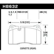 Hawk 06-10 VW Touareg Front /09-11 Corvette Z06/ZR-1 (w/Carbon Ceramic Brake Package and Iron rotors