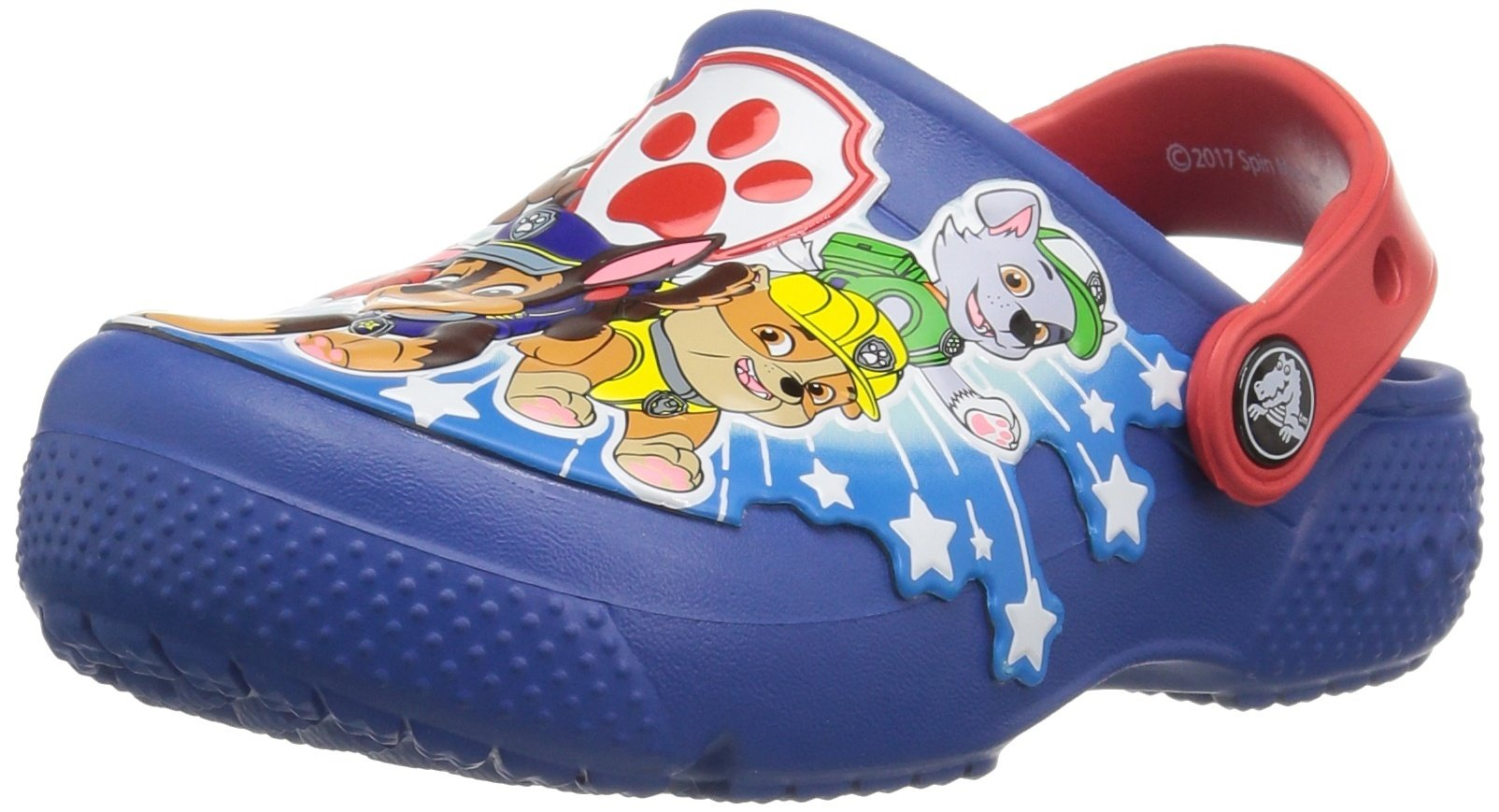 crocs 205180-4GX : Boys' Crocs fun lab Paw patrol K Clog Blue Jean by Crocs