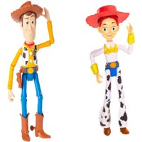 Toy Story 4 7 inch Basic Figures Woody and Jessie