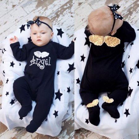 ca3629516 Emmababy - Fashion Newborn Baby Long Sleeve Romper Girl Boy Cotton ...