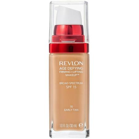 3 Pack - Revlon Age Defying Firming + Lifting Makeup, Early Tan [70] 1 oz