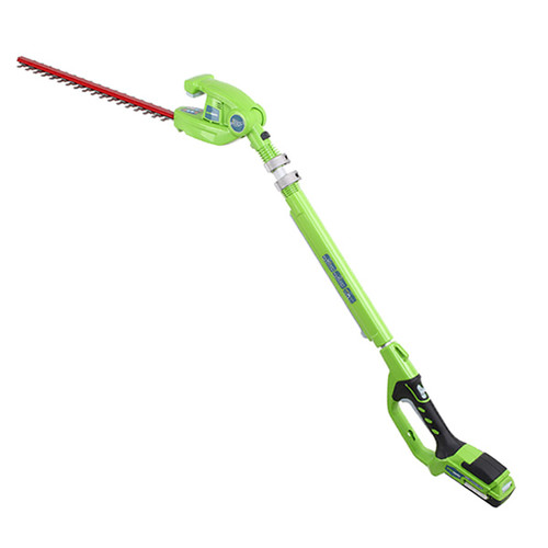 Greenworks 2300002 G 24 24V Cordless Lithium-Ion 20 in. Long Reach Hedge Trimmer (Bare... by GREENWORKS