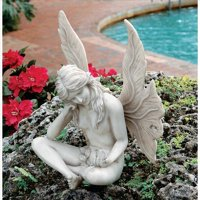 Design Toscano The Secret Garden Fairies: Gazing Fairy Statue