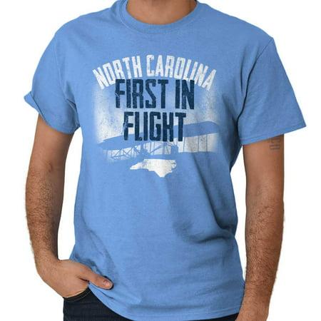 Brisco Brands North Carolina First In Flight Short Sleeve Adult T-Shirt](Halloween North Carolina)