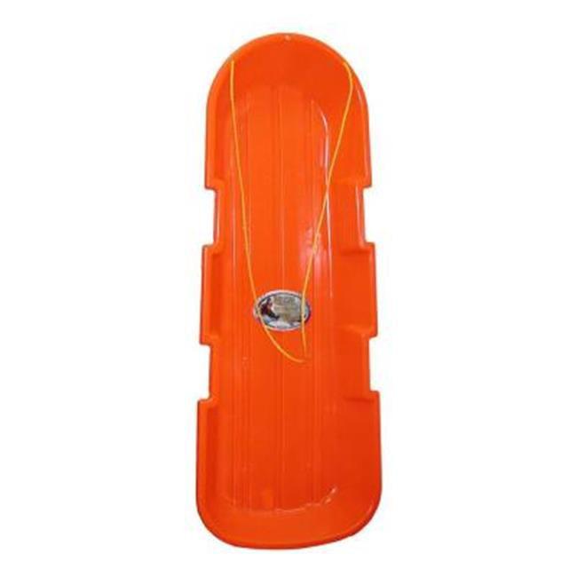 EmscoGroup 2914O Sno-Twin Orange Toboggan by EmscoGroup