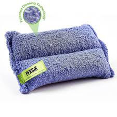 Nano-Knockout Ultra-Microfiber Cleaning Sponge – 2-in1Kitchen, Household and Dish Sponges – JUST ADD Water No Detergents Needed – Heavy Duty for Removing Stains in The Cracks, Tubs, Sinks - Pack of 2