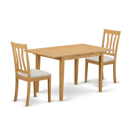 table set small dining table and 2 kitchen chair