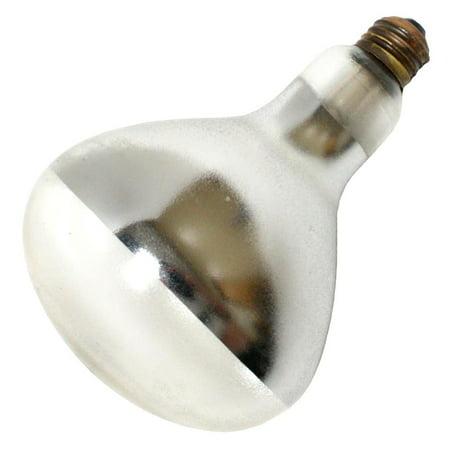Norman 37540 - PFA-375-R40-1 375W R40 HEAT PFA COATED Heat Lamp Light - 375w Light Bulb