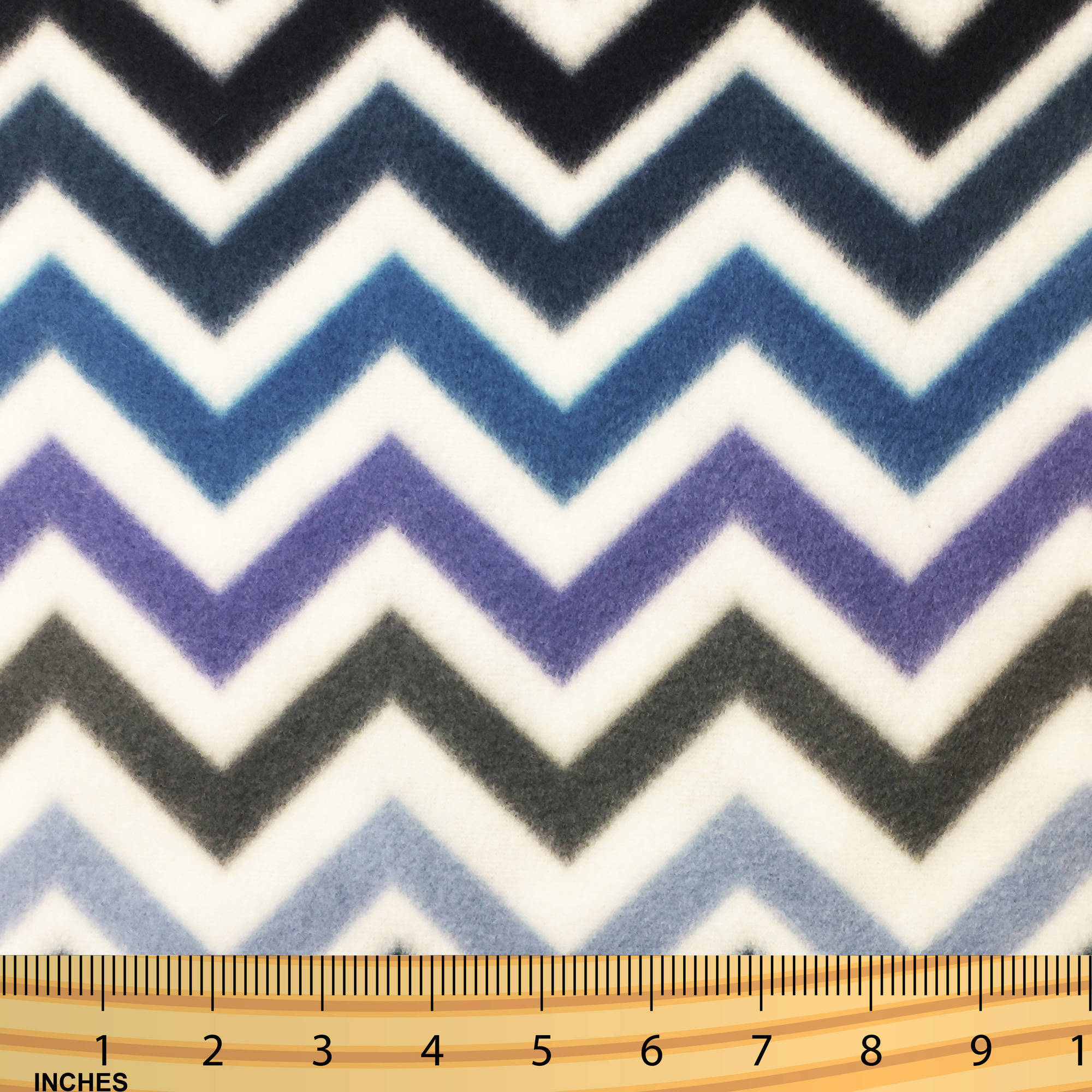SHASON TEXTILE (2 Yards cut) POLAR FLEECE FABRIC 100% POLYESTER ANTI-PILL, New Home Decor Chevron, Available in Multiple Colors