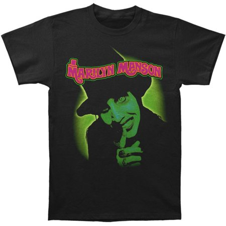 Marilyn Manson Men's Smells Like Children Slim-Fit T-Shirt (Marilyn Manson Las Vegas Halloween)