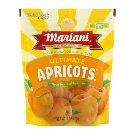 (3 Pack) Mariani Ultimate Apricots, 6 oz