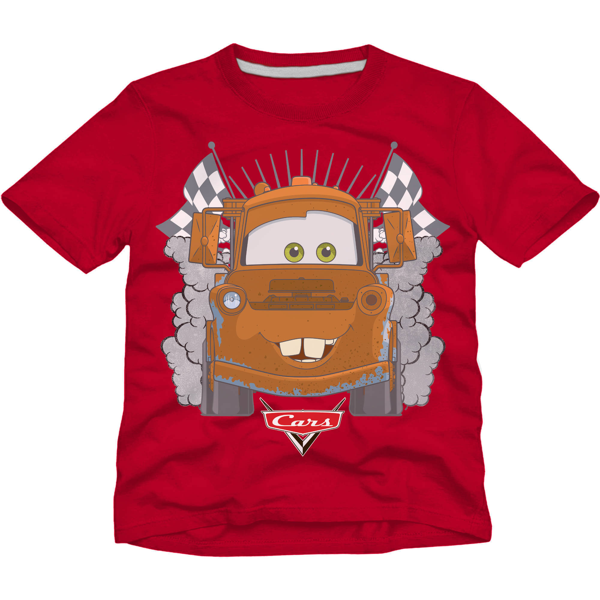 Cars Toddler Boy Short Sleeve Graphic Tee