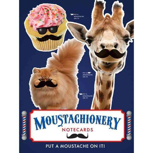 Moustachionery Notecards [With 12 Envelopes]