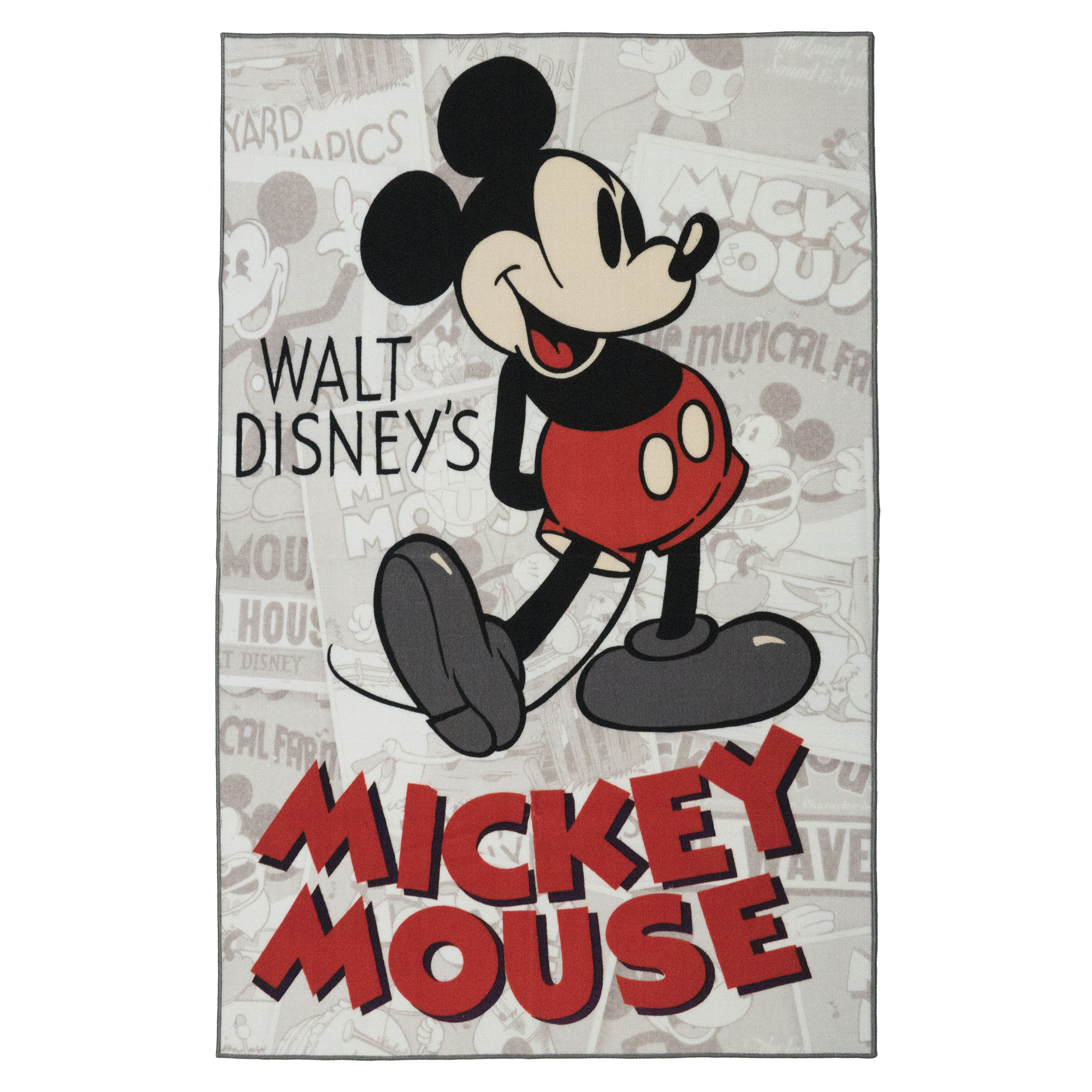 "Mickey Mouse HD Classic Rug, 54""x78"""