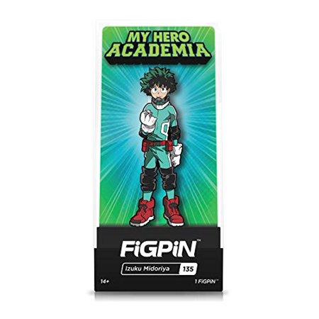 FiGPiN My Hero Academia: Izuku Midoriya (Deku) - Collectible Pin with Premium Display Case - image 1 de 1