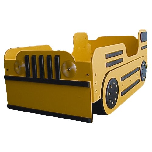 Just Kids Stuff Bulldozer Toddler Car Bed